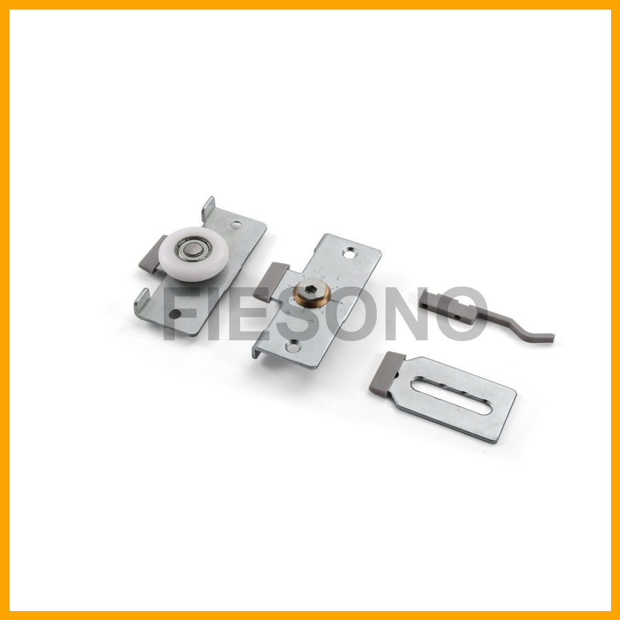 Adjustable furniture sliding roller fitting  / 可调轻便趟门