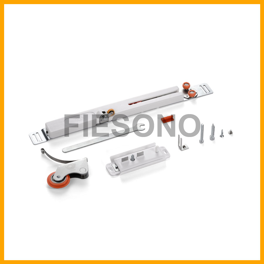 Soft closing roller for aluminum door / 单阻尼壁阻尼器